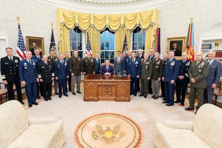 The top U.S. military leaders in October 2019 | Department of Defence