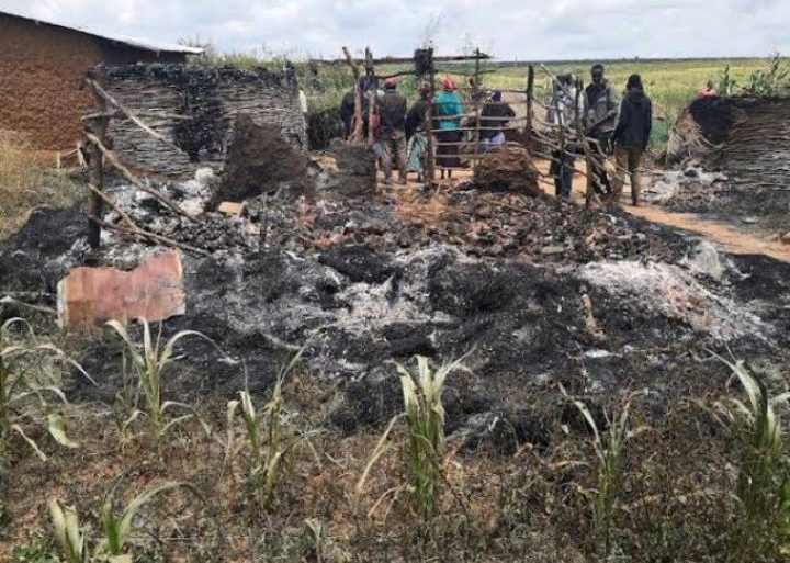 Some Ol Moran residents awoke to devastation after bandits torched their homes