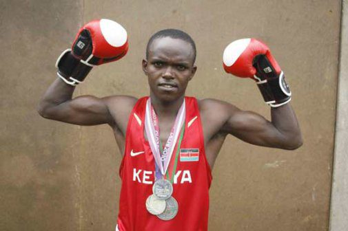 Gicharu won multiple international medals throughout his boxing career and participated in two Olympic games.