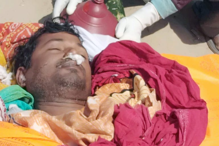Shambhu Nath's younger brother Swami Nath died of Covid-19 the next day