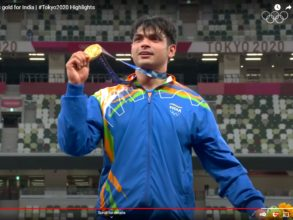 Javelin thrower Neeraj Chopra made history in the Tokyo Olympics by earning India's first gold medal in athletics.
